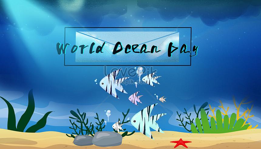 dia mundial do oceano