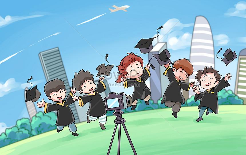 we graduated