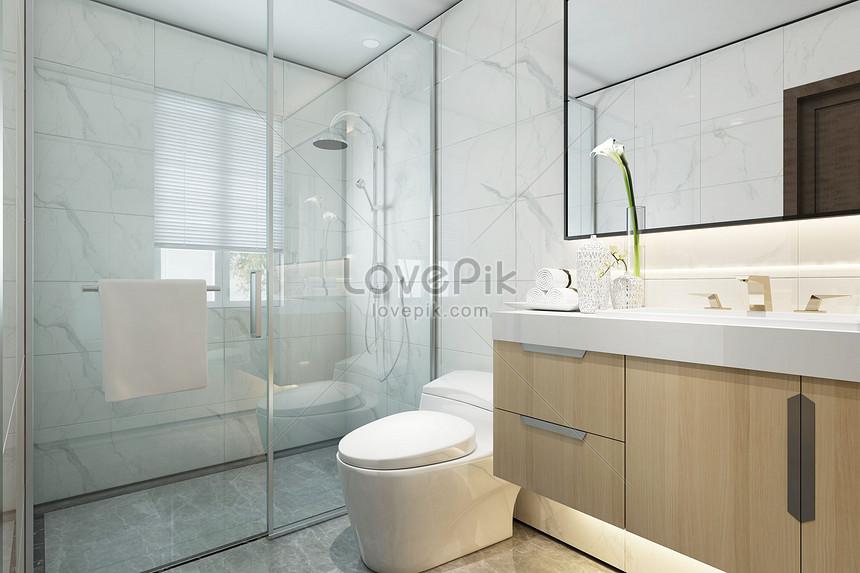 Nordic Bathroom Design Creative Image Picture Free Download 401773545 Lovepik Com