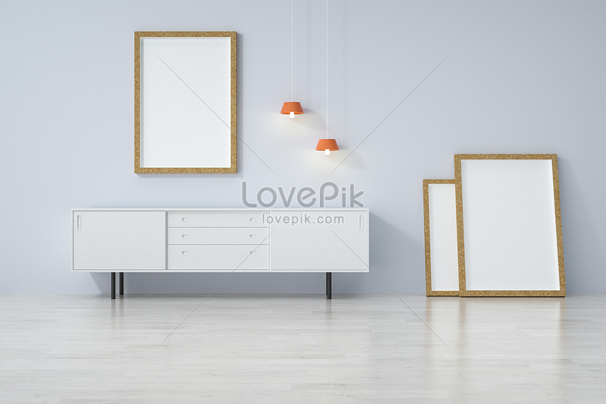 Three Dimensional Interior Decoration Mockup Creative Image Picture Free Download 401788033 Lovepik Com