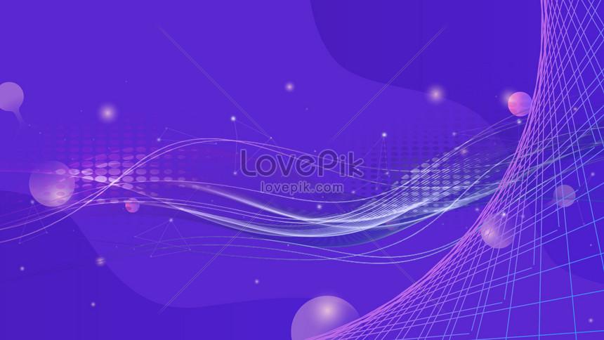 technology line background