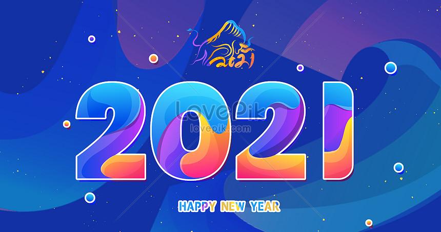 2021 jahr der ochsen schriftart