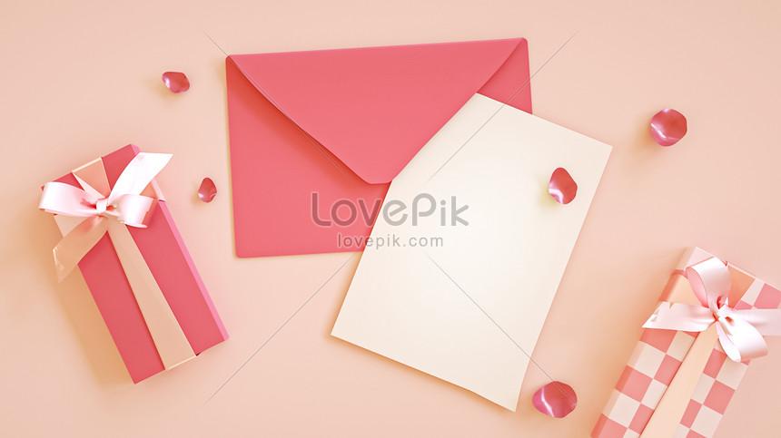 escena romántica carta de amor