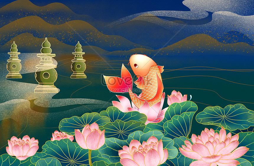 guo chao koi poster