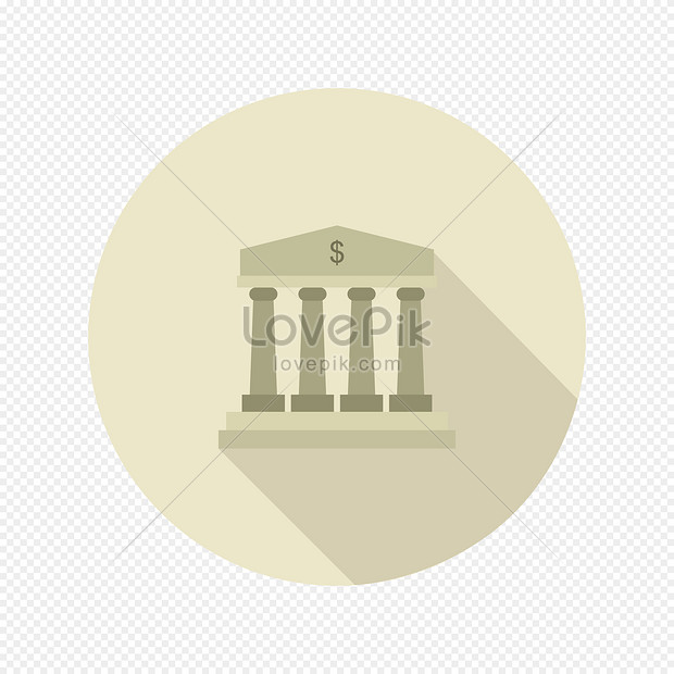 bank icon illustrated in vector