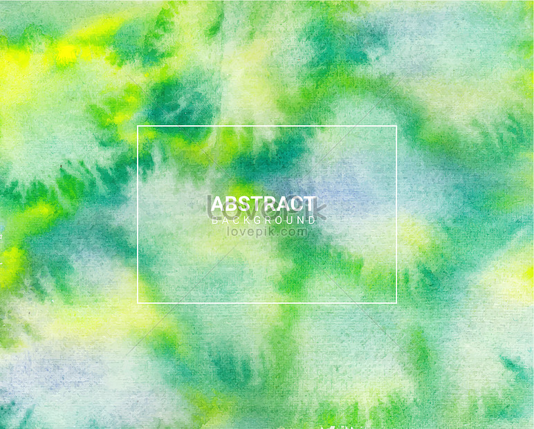 green brand abstract watercolor texture background