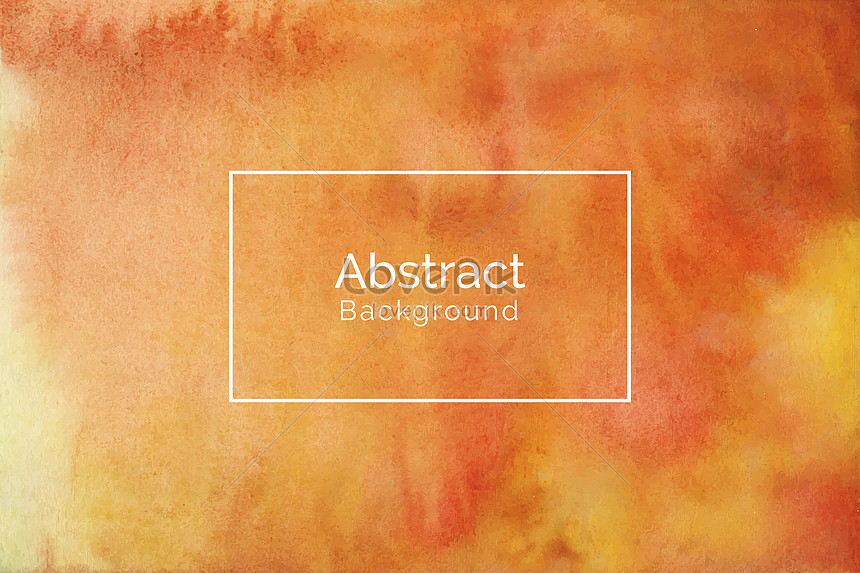 abstract creative yellow watercolor texture background