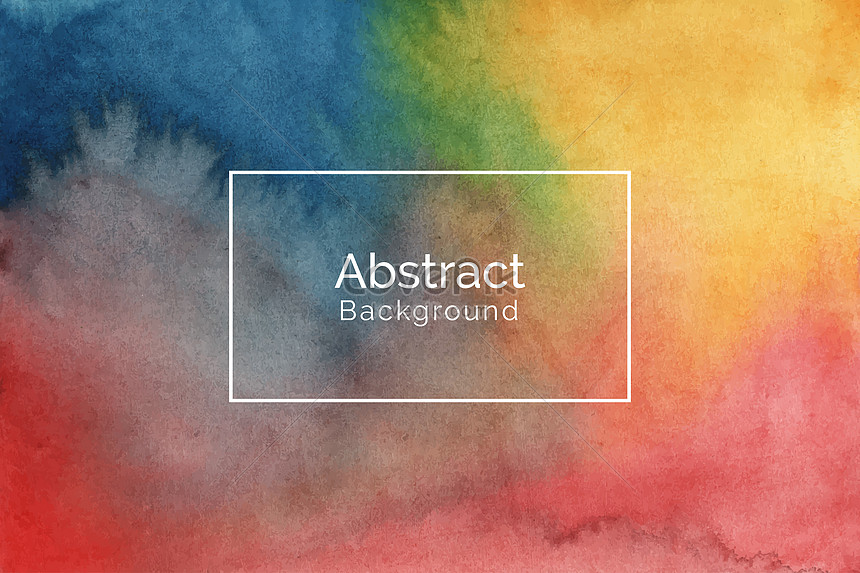 creative colorful watercolor design background texture