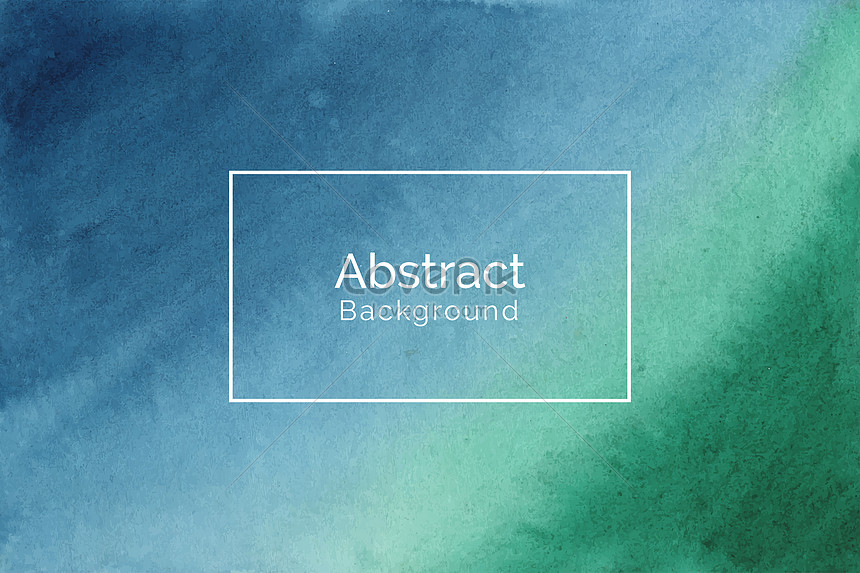 abstract modern blue and green watercolor texture background