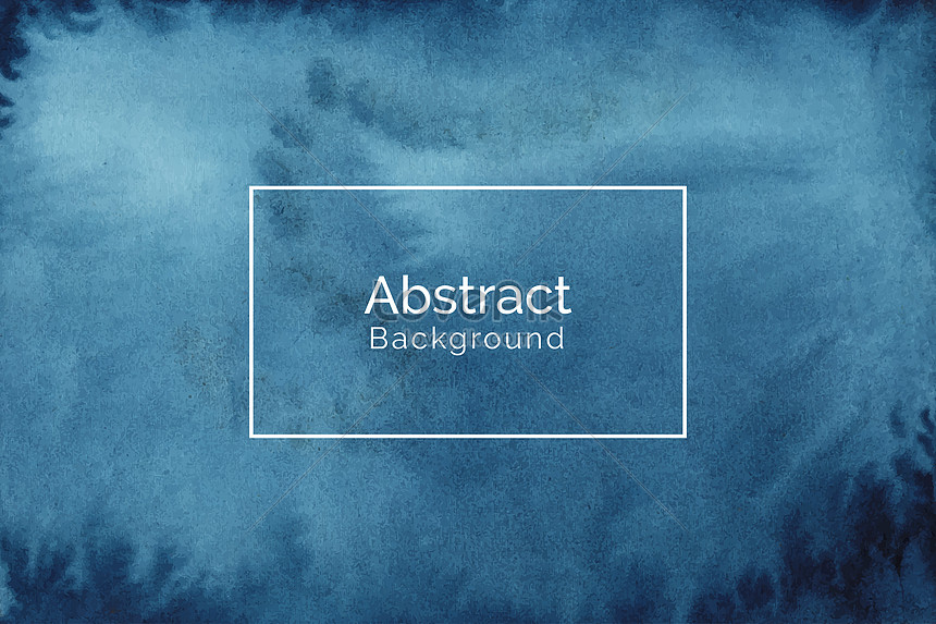 modern abstract blue watercolor texture background