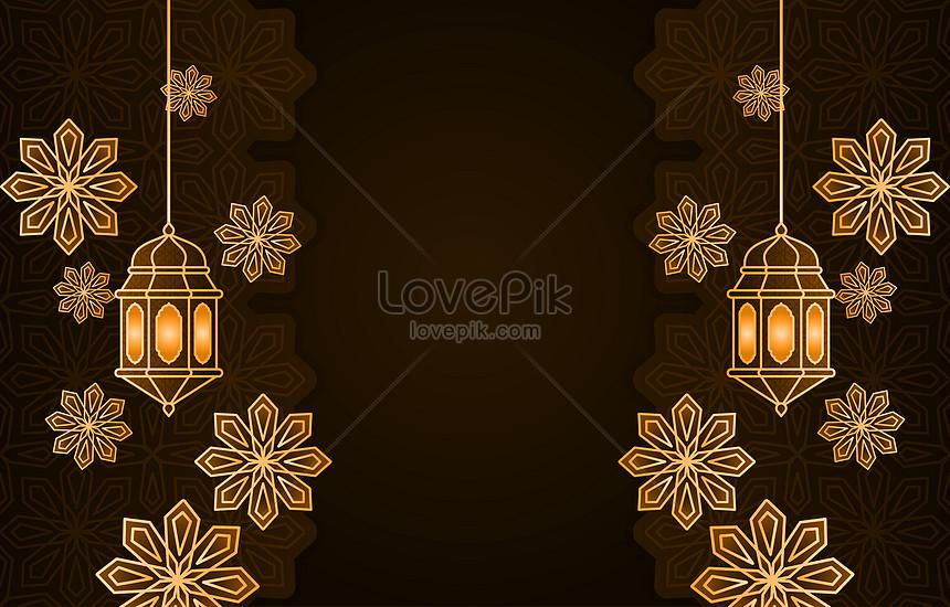ramadan kareem islamic arabic lantern background