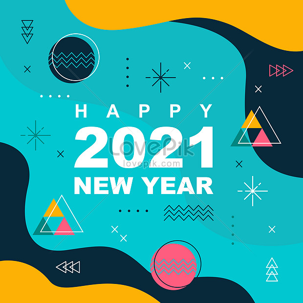 happy new year holiday greeting abstract background