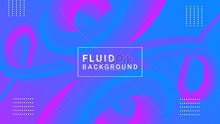 abstract blue gradient liquid banner background