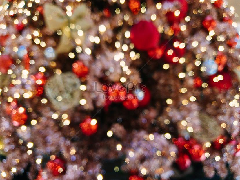 merry christmas bokeh