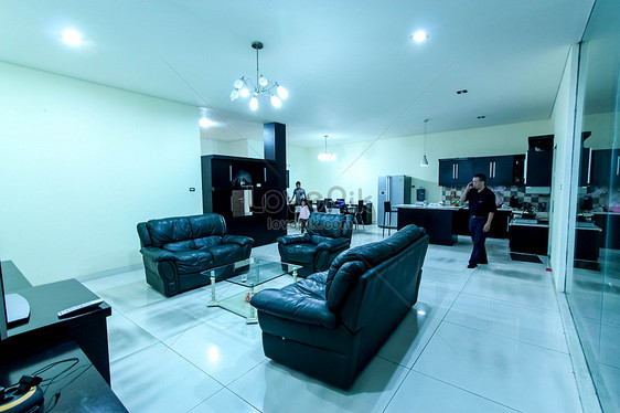 Sofa Ruang Tamu Hitam Gambar Unduh Gratis Foto 500025428 Format