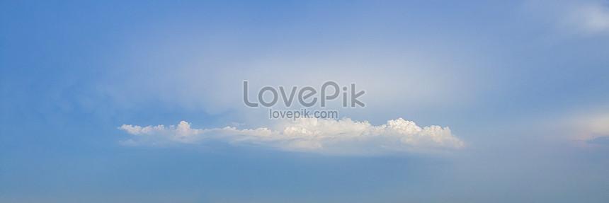 藍天白雲自然風光