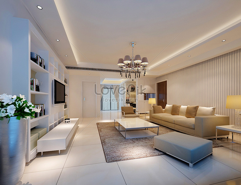Modern Simple Living Room Background Wall Effect Map Photo Image Picture Free Download 500078483 Lovepik Com