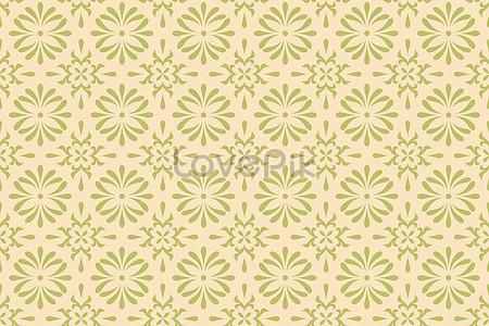 Geometric Pattern Background Of Light Yellow Wallpaper Fabric Image