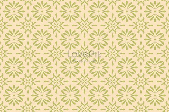 Geometric Pattern Background Of Light Yellow Wallpaper Fabric
