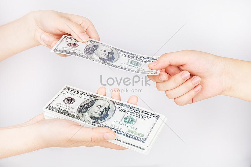 both hands trade dollars