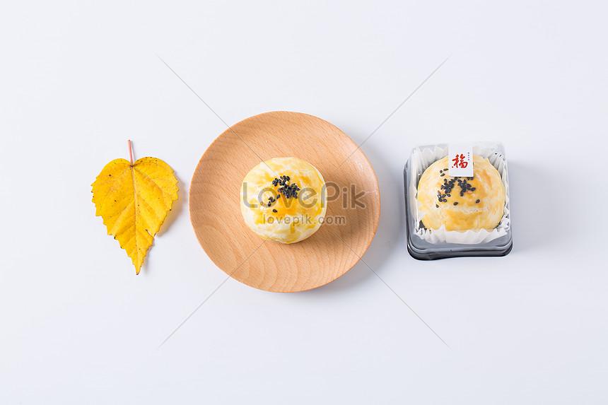 handmade egg yolk cake dessert packaging photography handmade ba