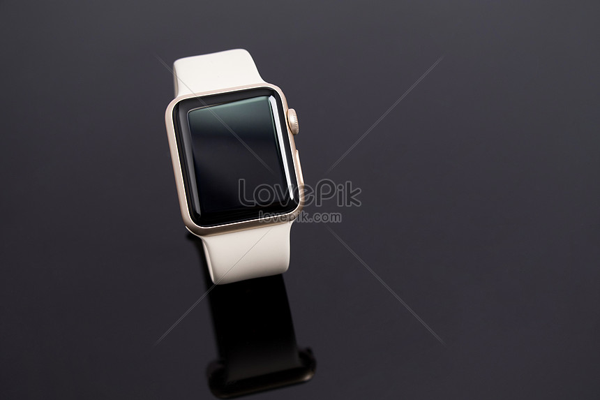 White Apple Watch With Black Background Photo Image Picture Free Download 500139774 Lovepik Com