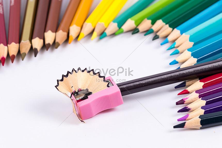 Watercolor Bút Màu Chì Sáng Tạo Lắc Bắn Súng Hình ảnh định