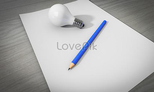 Bilder Zum Glühbirne Bleistift Download Kreativ