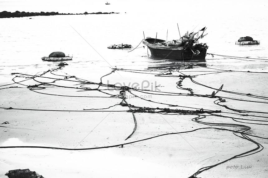 Kumpulan Koleksi Gambar Hitam Putih Nelayan Terbaik