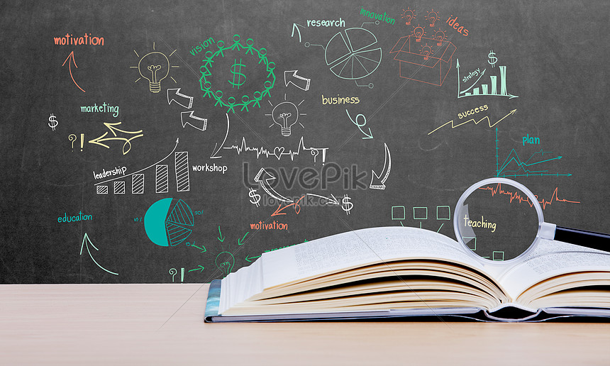 The Learning Background Of School Classroom Education Creative Image Picture Free Download 500219111 Lovepik Com