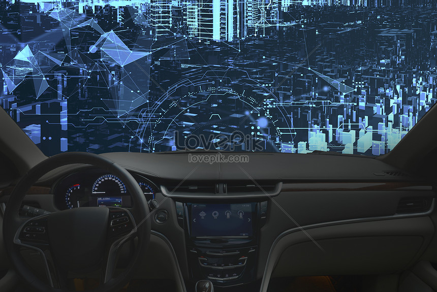 مدينة المستقبل سيارة 3d الملاحة