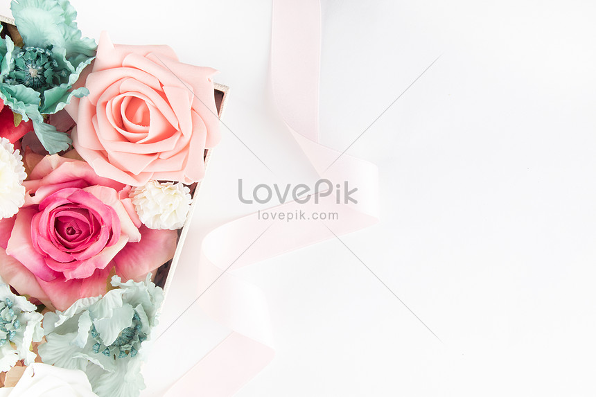 flowers and floral background material