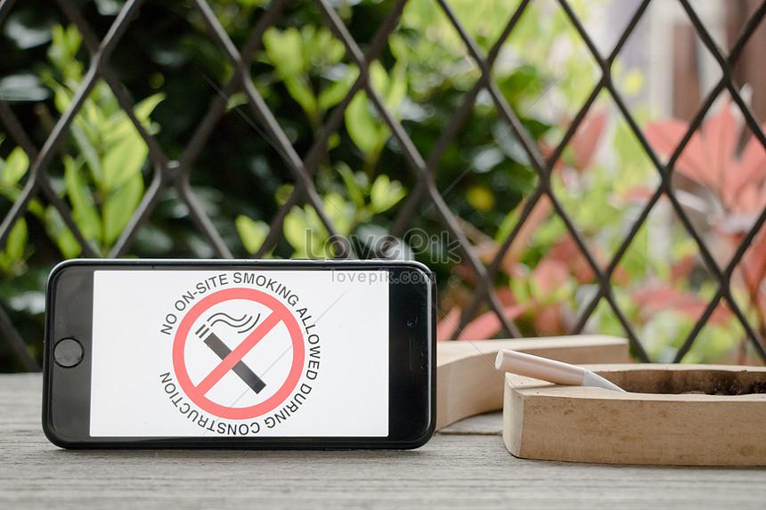 Background of world anti smoking day photo image_picture free