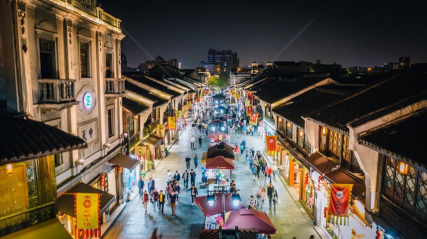 Resultado de imagem para hangzhou Rua Qing He Fang