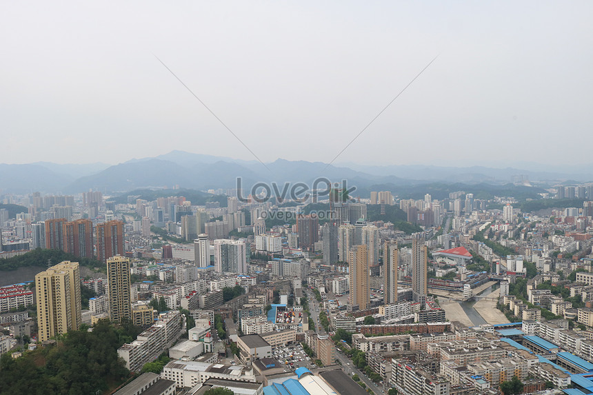 Shiyan City Map Panoramic Photography Photo Image Picture Free Download 500480110 Lovepik Com