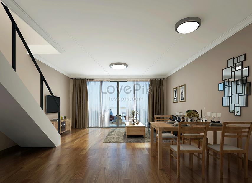 Modern Minimalist Living Room Interior Design Effect Diagram Photo Image Picture Free Download 500502649 Lovepik Com