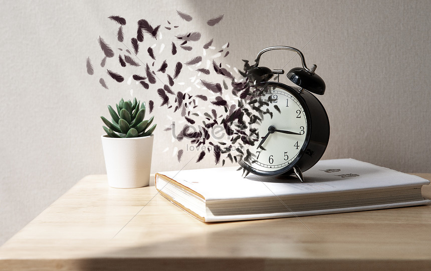 alarm clock time disappearing and fragmented