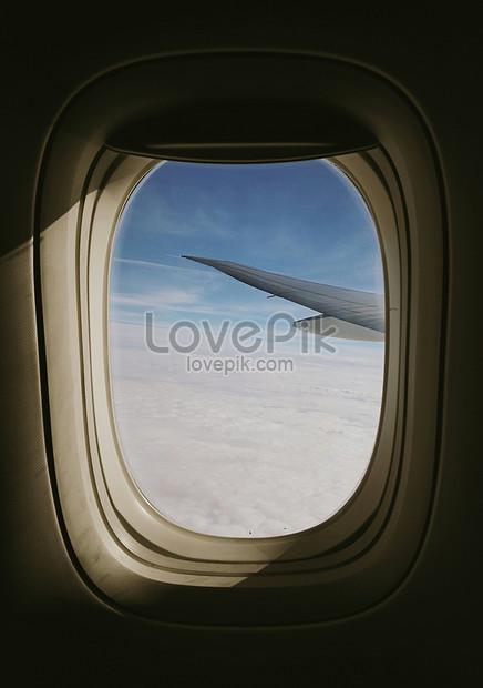 飛機舷窗景色