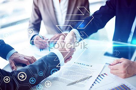 Business cooperation handshake jpg
