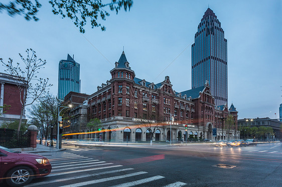 Street Scene In Tianjin Image