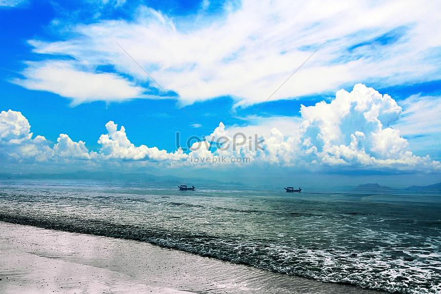 Pemandangan Laut Yang Indah Gambar Unduh Gratis Imej 500541023 Format Jpg My Lovepik Com