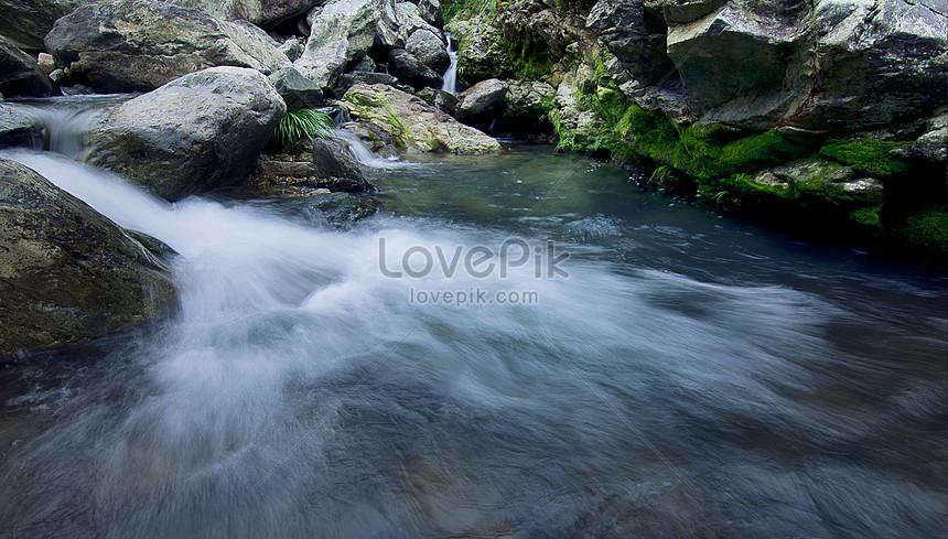 imagens de fundo de água de fluxo