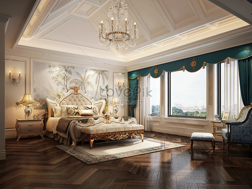 Interior Design Effect Map Of European Style Bedroom Photo Image Picture Free Download 500591865 Lovepik Com