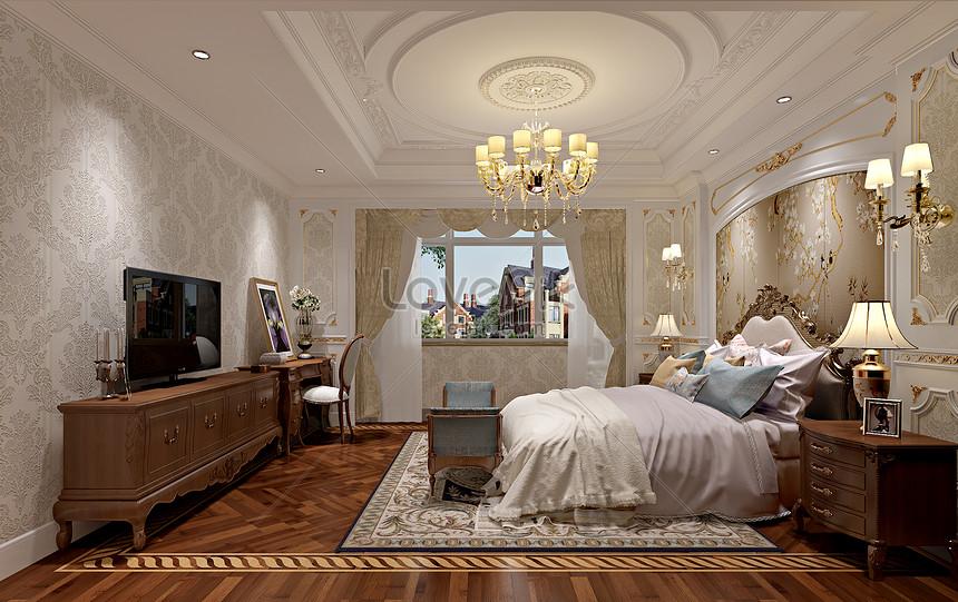 Rendering Desain Interior Kamar Tidur Minimalis Eropa Gambar Unduh Gratis Foto 500591886 Format Gambar Jpg Lovepik Com