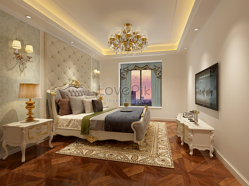 Interior Design Effect Map Of European Style Bedroom Photo Image Picture Free Download 500591892 Lovepik Com