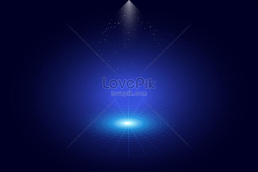 Nền Màu Xanh ánh đèn Sân Khấu Hình ảnh định Dạng Hình ảnh