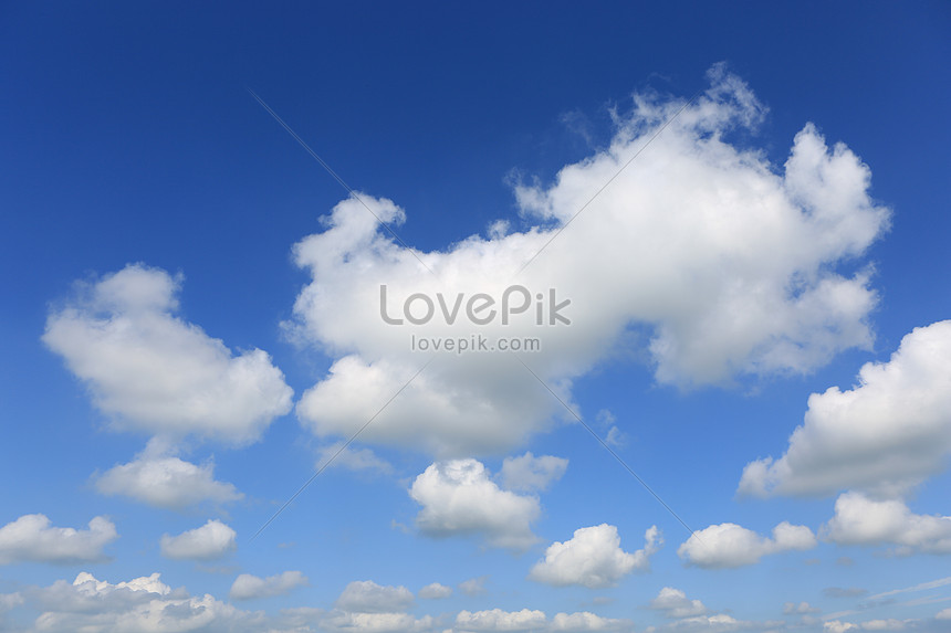 藍天白雲素材