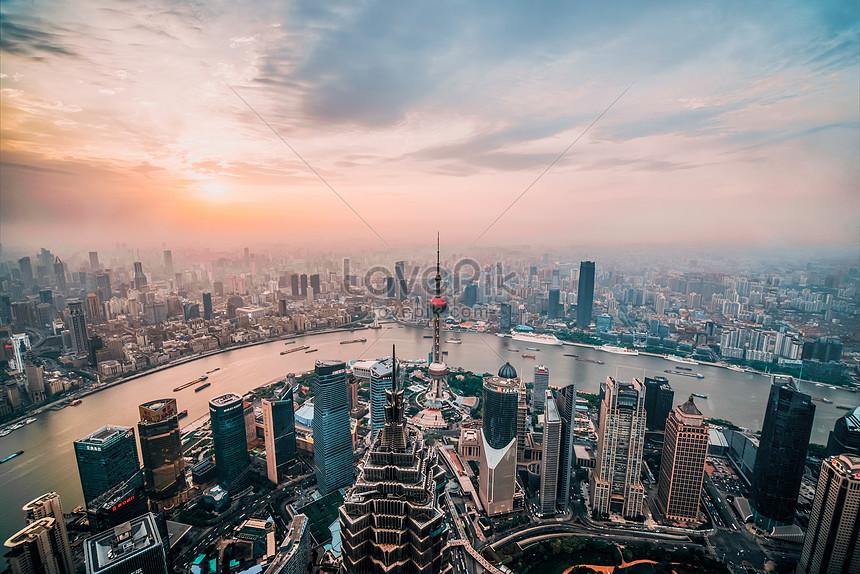 urban landscape in shanghai