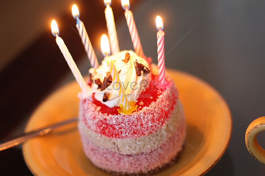 Birthday Candles On Cakes