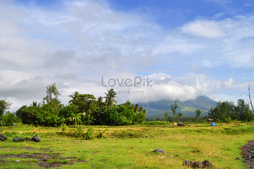 filipinler mayon volkan güzel hd fotoğraflar